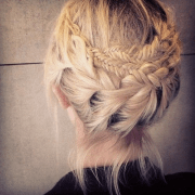 21 - french braid updo hairstyles
