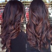 dark hair colour ideas - popular