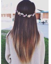 cute straight hairstyles