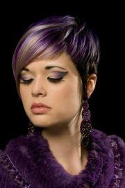 stylish hair color design