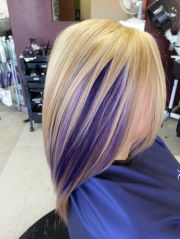 stylish hair color design