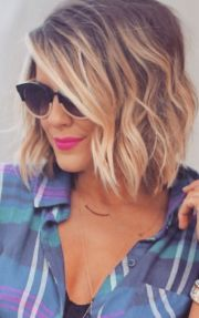 bright bob hairstyles with bangs