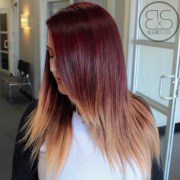 stunning red hair colour