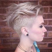 stylish fancy undercut hairstyle