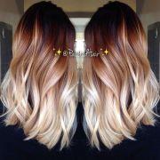 two-tone hair colour ideas