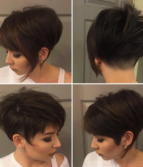30 stylish short hairstyles curly wavy straight hair