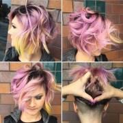 modern shag haircut design