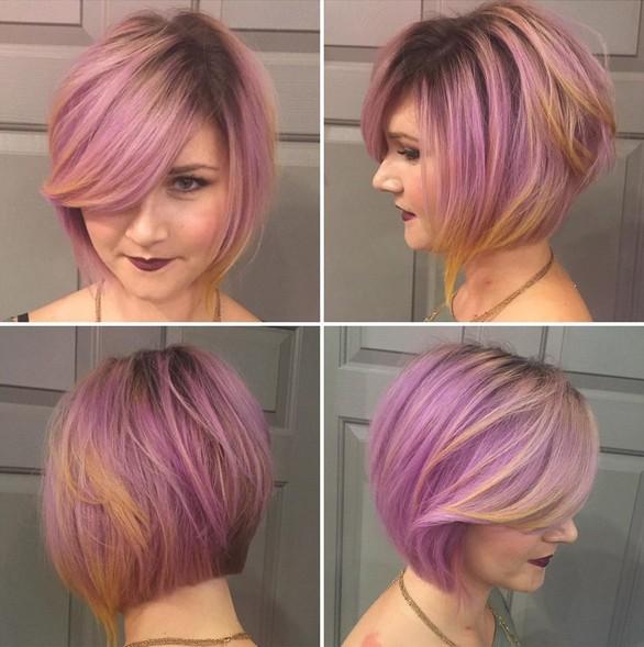 16 Cute Easy Short Haircut Ideas For Round Faces