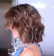 textured choppy bob hairstyles