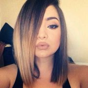 top ombre hair colors bob hairstyles