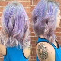Gorgeous Pastel Purple Hairstyle Ideas: Balayage Hair ...
