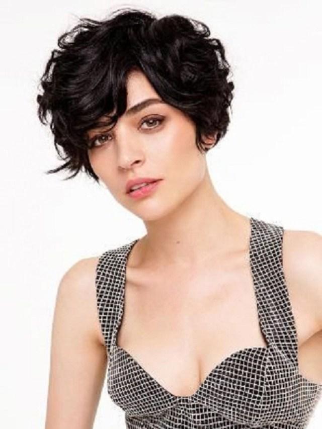 20 lovely wavy & curly pixie styles: short hair - popular