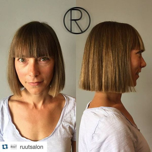 30 Blunt Cut Short Hairstyles For Women Over 50 Hairstyles Ideas
