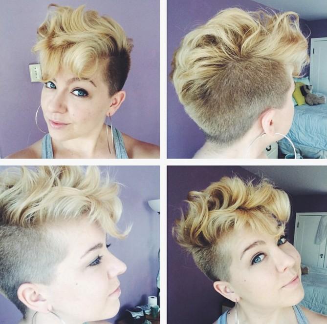 20 Lovely Wavy Amp Curly Pixie Styles Short Hair PoPular
