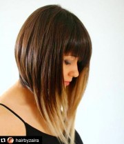trendy bob hairstyles with bangs