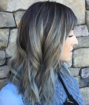 gorgeous grey hair trend colors
