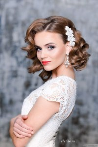 23 Perfect Short Hairstyles for Weddings: Bride Hairstyle