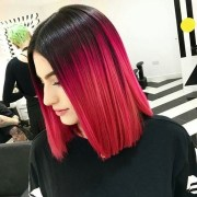 striking red ombre hair ideas