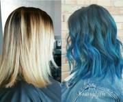 beautiful blue ombre colors