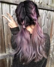 purple ombre hair color ideas