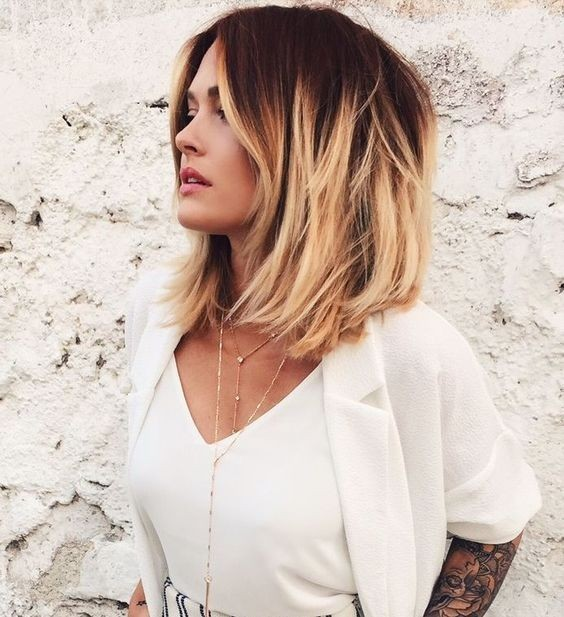 30 Long Bob Hairstyles For Thick Hair Hairstyles Ideas Walk The