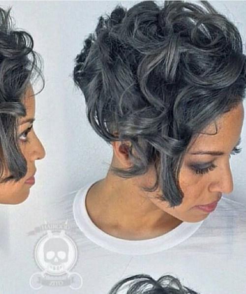 Wavy Pixie Haircut