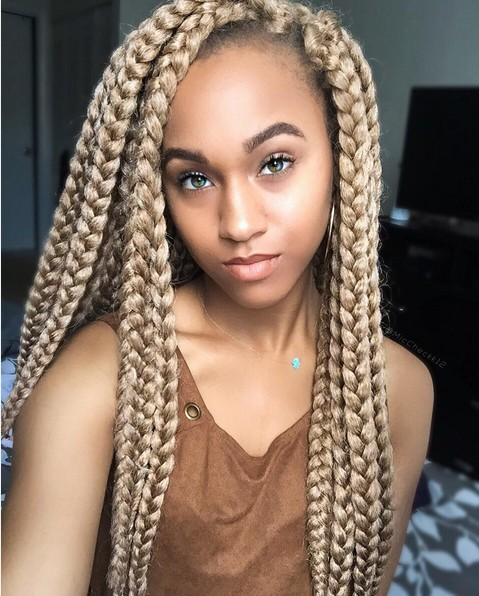 12 Pretty African American Braided Hairstyles Popular Haircuts