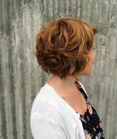 Easy, Curly Short Bob Cut