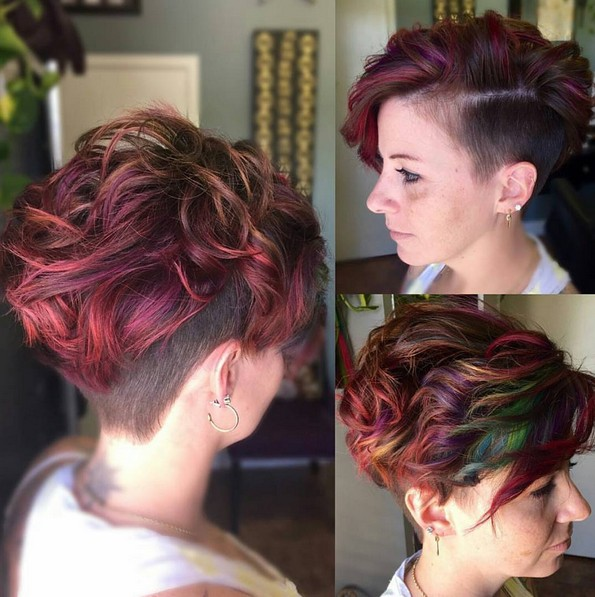 30 Funky Pixie Hairstyles Thick Hair Hairstyles Ideas Walk The