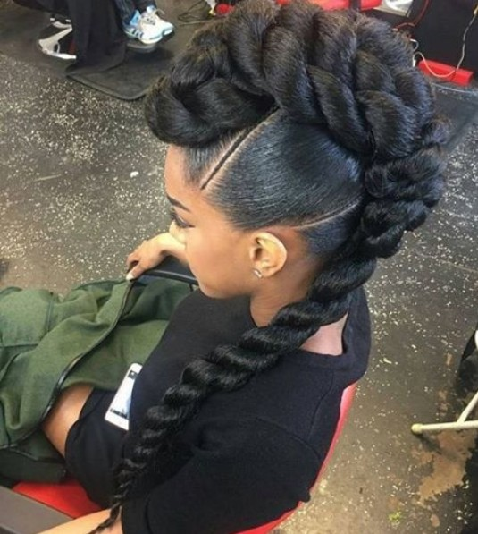 10 Chic African American Braids The Hot New Look