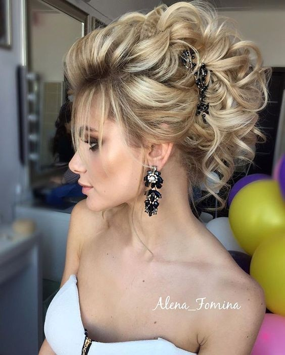 18 Elegant Hairstyles For Prom Best Prom Hair Styles 2017