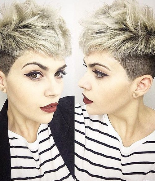 Short Hairstyles with Thick Hair - Undercut for Women