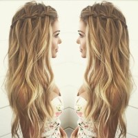 Hair Styles For Curly Long Hair Long A Line Haircuts Easy
