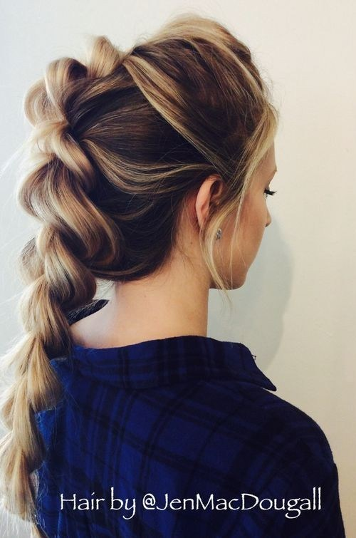 Beautiful Braided Hairstyle for Long Hair