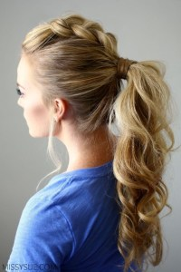 10 Easy Ponytail Hairstyles: Long Hair Style Ideas 2018