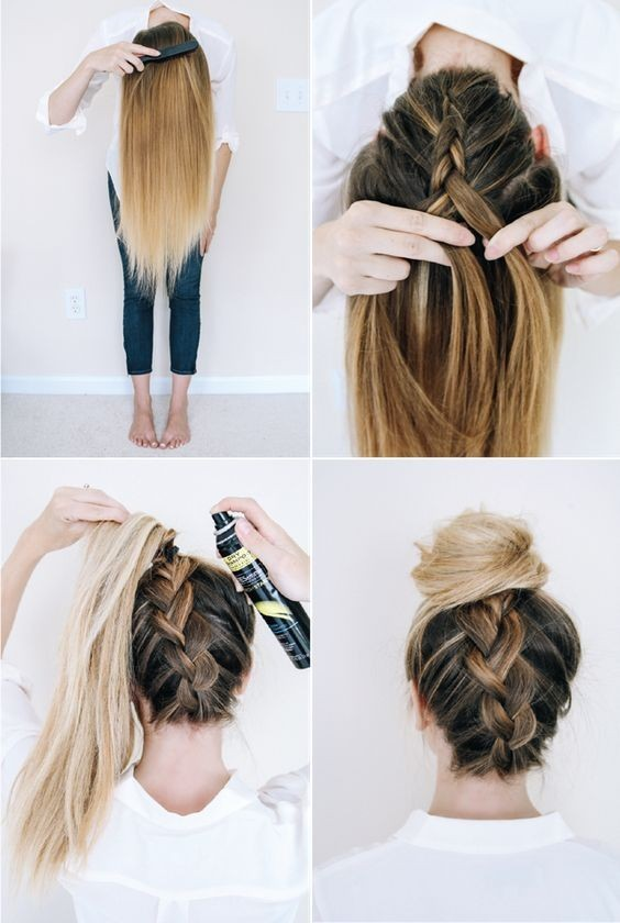 10 SuperTrendy Easy Hairstyles for School  PoPular Haircuts