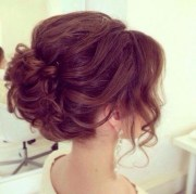 prom hairstyle design short