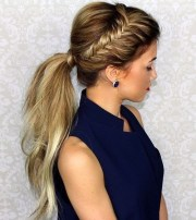 easy ponytail hairstyles 2020