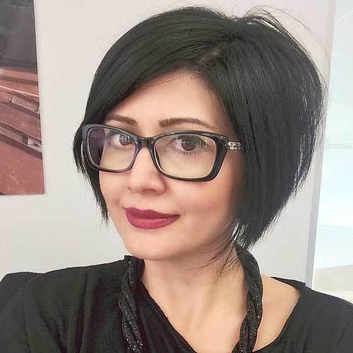 22 Stylish Styles For Inverted Bobs 2019