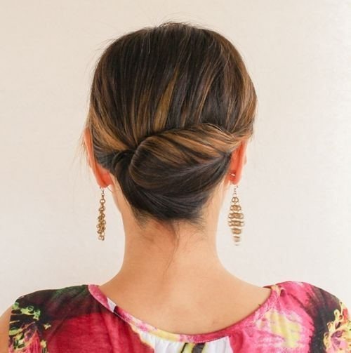 27 Trendy Updos For Medium Length Hair Updo Hairstyle