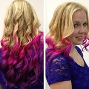 stylish pink ombre hairstyles