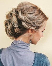 10 Stunning Up Do Hairstyles 2019 - Bun Updo Hairstyle ...