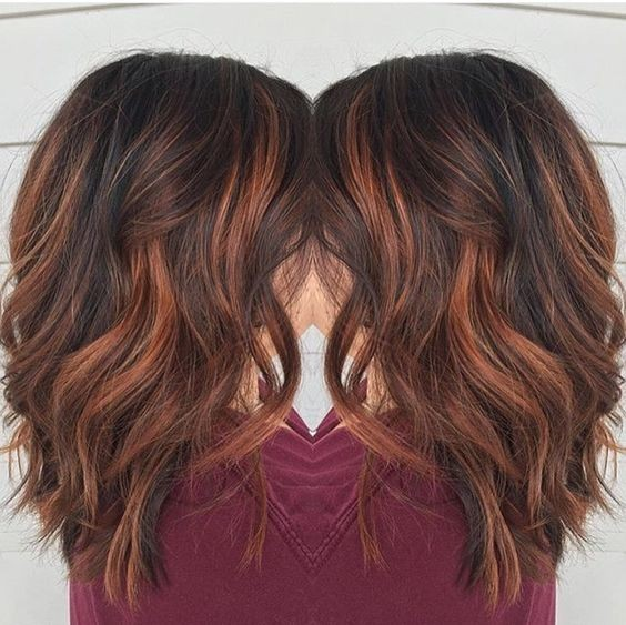 Medium Brown Hairstyles New Hair Color Gulfsource