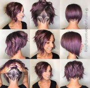 trendy stacked hairstyles