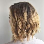 curly graduated bob hairstyles
