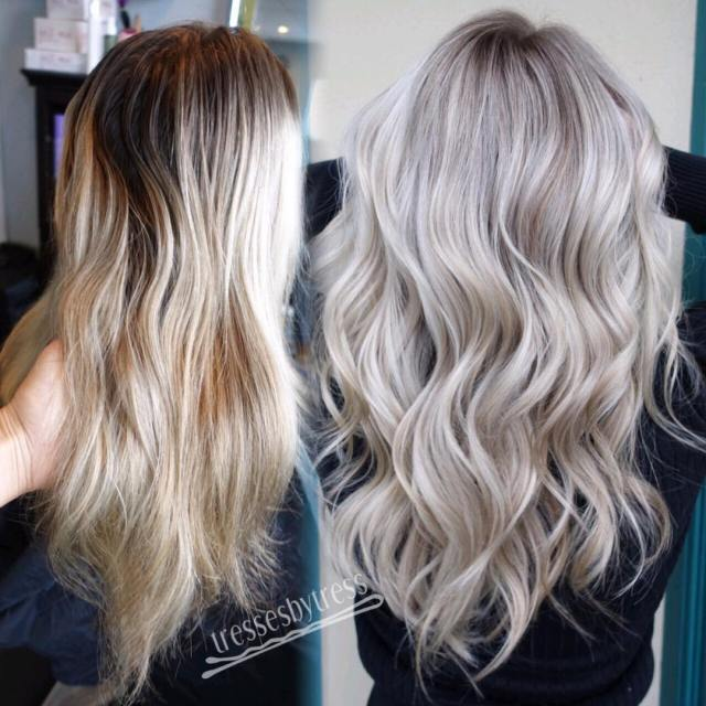 20 trendy hair color ideas 2019: platinum blonde hair ideas