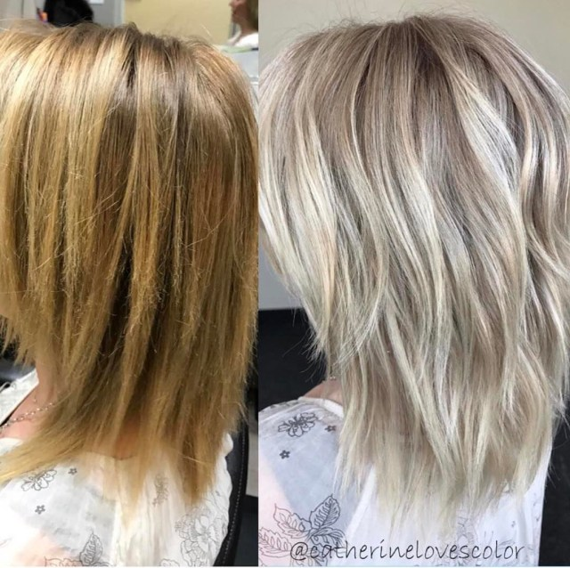 20 adorable ash blonde hairstyles to try: hair color ideas 2019