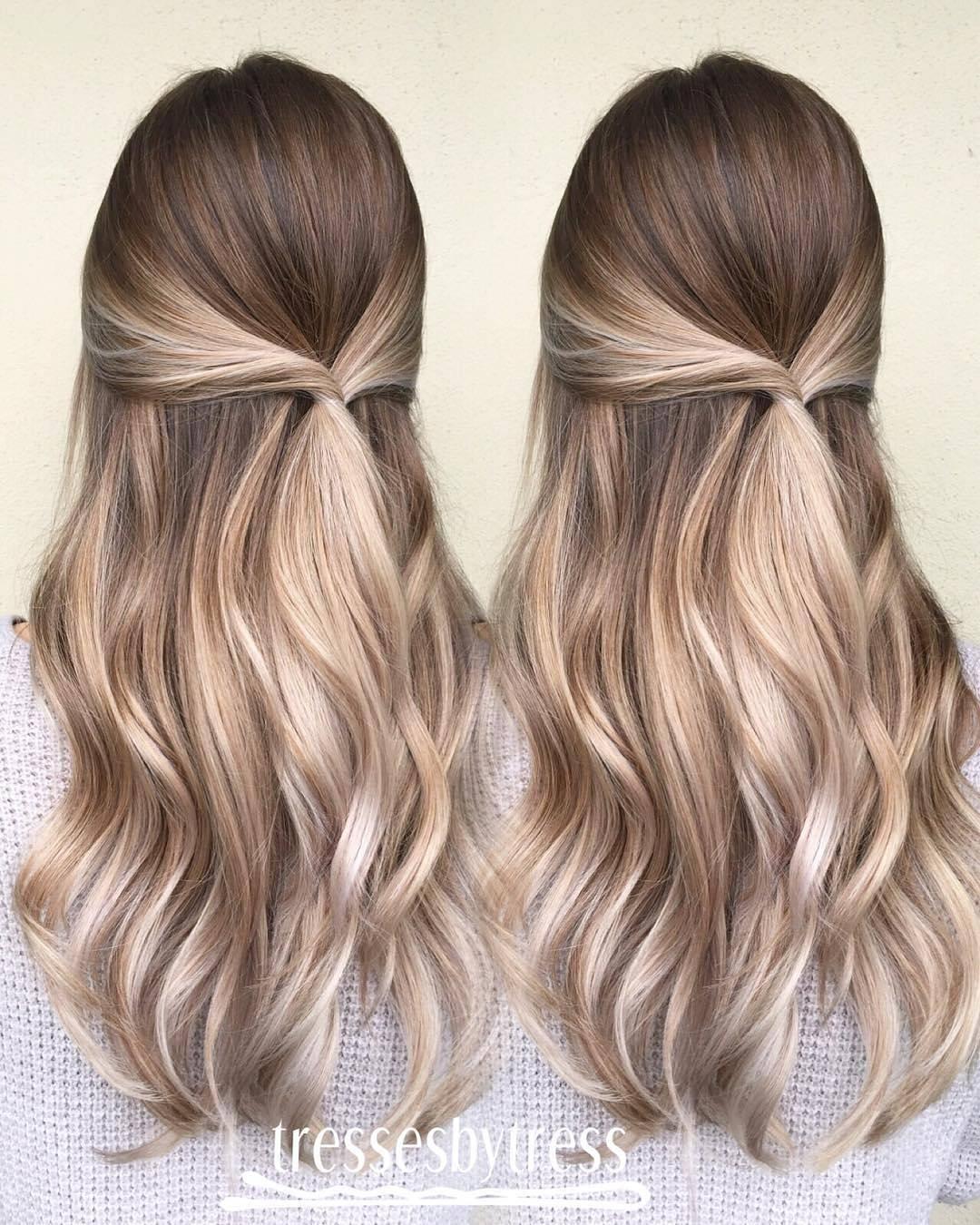20 Beautiful Blonde Balayage Hair Color Ideas
