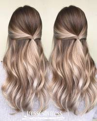 20 Beautiful Blonde Balayage Hair Color Ideas