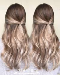 20 Beautiful Blonde Balayage Hair Color Ideas - Trendy ...